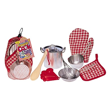 Alex Toys 9/Pack Completer Cook Role Play Set, 9/Pack (ALE13R)
