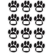 Ashley® Die-Cut Magnetic Nameplates, Black Paws