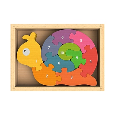 Beginagain Number Snail Puzzle (BE-I1202)