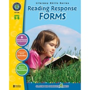 Classroom Complete® Reading Response Forms Book, Grades 5-6
