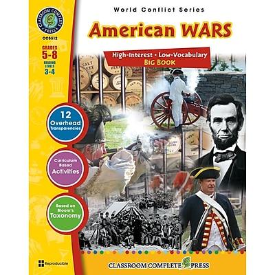 Classroom Complete® World Conflict Book Series, American Wars Big Book