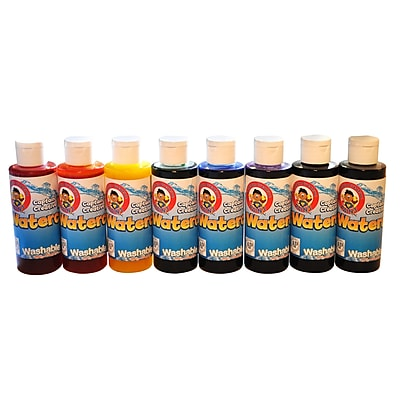 Captain Creative 4 oz. Washable Paint, 8/Pack (CCR022999)