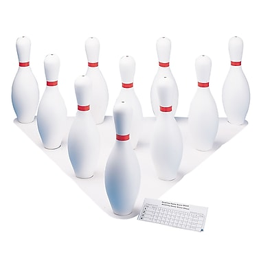 Champion Sports Plastic Bowling Pin Set (CHSBPSET)