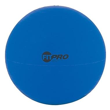 Champion SportsMD – Ballon d'exercice et d'entraînement de 53 cm Fitpro, bleu