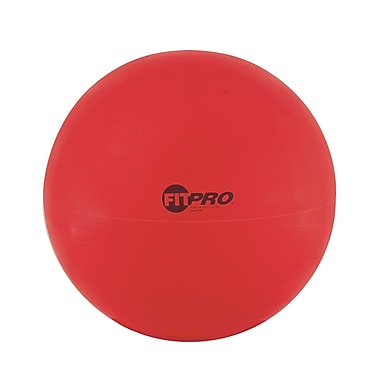 Champion Sports® 65 cm Fitpro Training & Exercise Ball, Red