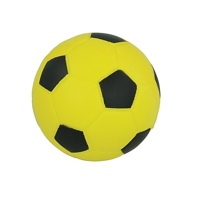 Champion Sports® Size 4 Coated High Density Foam Soccer Ball, Yellow