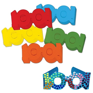 Chenille Kraft® 100 Days Paper Glasses