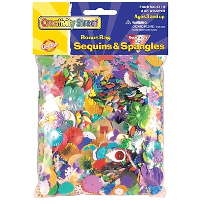 Chenille Kraft CK6114 Assorted Sequins and Spangles