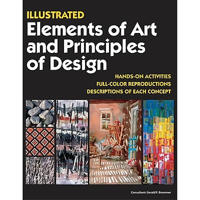 Crystal Productions Illustrated Elements Of Art and Principles Of Design Book, Grades Preschool - 9