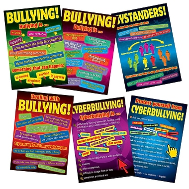 Didax® Bullying in a Cyber World Poster Set, Grades 5 - 8