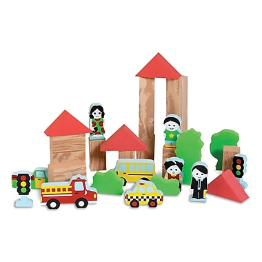 Edushape 29 Piece My Soft World-City Blocks Set (EDS749073)