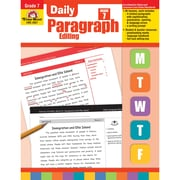"Evan-Moor® ""Daily Paragraph Editing"" Grade 7 Teacher's Edition Activity Book, Editing Skills"
