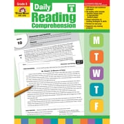 "Evan-Moor® ""Daily Reading Comprehension"" Grade 8 Teacher's Edition Book, Language Arts/Reading"