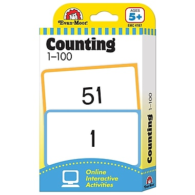 Evan - Moor® Learning Line: Flash Card, Counting 1 - 100