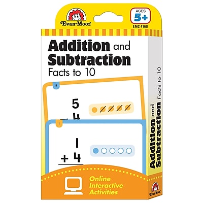 Evan Moor Learning Line Flash Card Addition and Subtraction