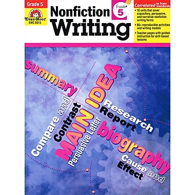 Evan-Moor® How To Write Nonfiction Writing Skills Book, Grades 5
