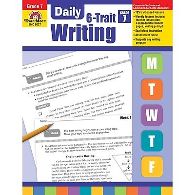 Evan-Moor® Daily 6-Trait Writing, Grade 7