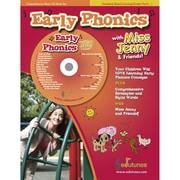 Edutunes® Early Phonics CD Book Set, Grades PreK - 1