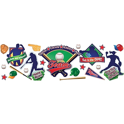 Eureka® Baseball Bulletin Board Set
