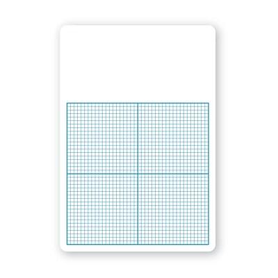 Flipside® Dry Erase Base Ten Grid Board, Single