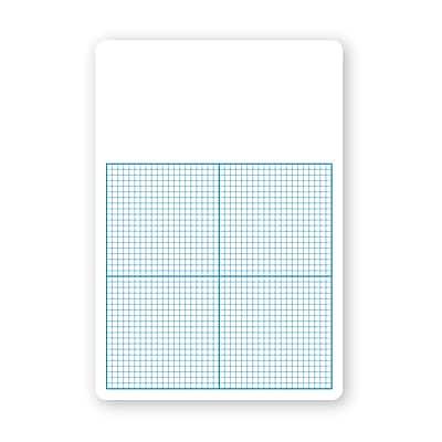 Flipside® Dry Erase Base Ten Grid Boards, Class Pack Of 12