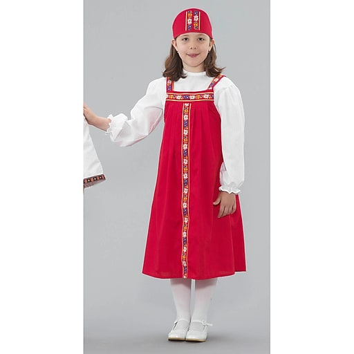 Childrens Factory® Multicultural Costume, Russian Girl