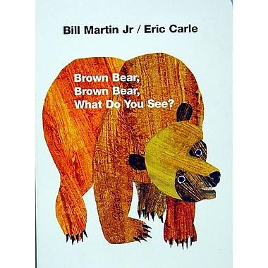 MacMillan – Livre cartonné « Brown Bear Brown Bear What Do You See » (ING0805047905)