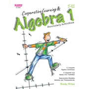 Kagan Publishing Cooperative Learning and Algebra 1 Activity Book, Grades 7 - 12