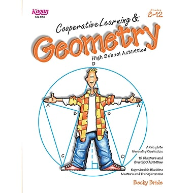 Kagan Publishing Cooperative Learning & High School Geometry Book, Grades 8 - 12