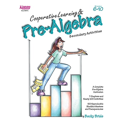 Kagan Publishing® Cooperative Learning & Pre-Algebra Book