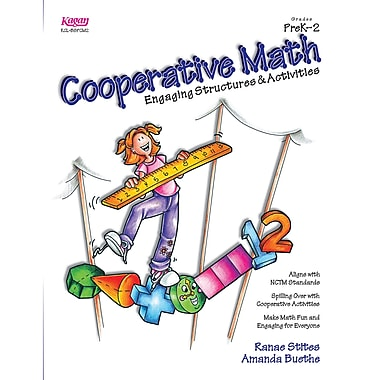 Kagan Publishing Cooperative Math Resource Book, Grades PreK - 2