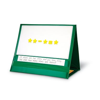 Learning Resources® Write-On/Wipe-Off Magnetic Demonstration Tabletop Pocket Chart