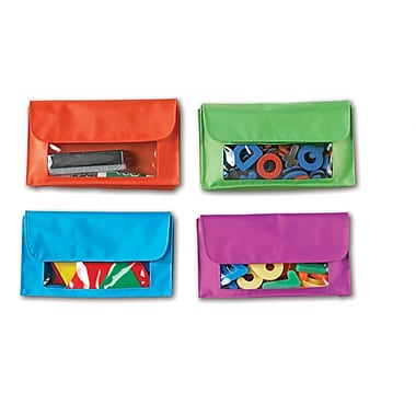 Learning Resources Magnetic Storage Pockets, 4/Pack (LER6447)