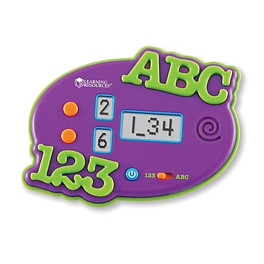 Learning Resources® Electronic Flash Card, ABC & 123