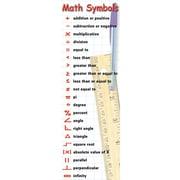 McDonald Publishing Math Symbols & Behaviors Smart Bookmark, 36/Pack (MC-K1162)