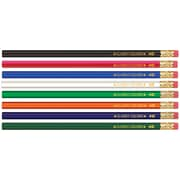 Musgrave Pencil Company Gross Wood Case, Hex Pencils, Assorted (MUSDHEX99)