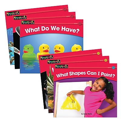 Newmark Learning® Rising Readers Leveled Books, Math Set, 24 Titles