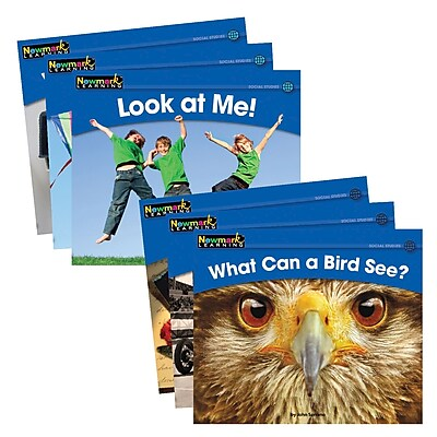 Newmark Learning® Rising Readers Leveled Books, Social Studies Set, 24 Titles