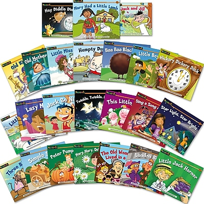 Newmark Learning® Rising Readers Leveled Books, Nursery Rhyme Tales, 24 Titles