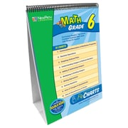 New Path Learning® Math Curriculum Mastery® Flip Chart Set, Math, Grades 6