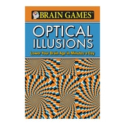 Publications International Brain Games Optical Illusions Activity Book, Grades 10 - 12