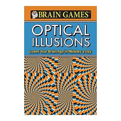 Publications International Brain Games Optical Illusions Activity Book, Grades 10 - 12