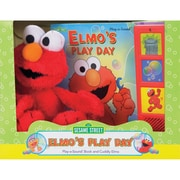 "Publications International ""Sesame Street: Elmo's Play Day"" Book Box and Plush"