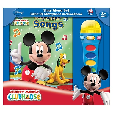 Publications International Book Box And Module Mickey Mouse Clubhouse Microphone, Grade PreK - 2 (PUB7604400)