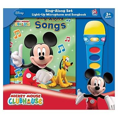 Publications International – Boîte à livre et module microphone Mickey Mouse Clubhouse, prématernelle à 2e (PUB7604400)