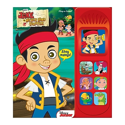 Publications International Jake and the Neverland Pirates: Play-a-Sound Board Book, Grades K - 2
