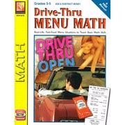 Remedia® Drive - Thru Menu Math: Add & Subtract Money Book, Grades 3 - 5