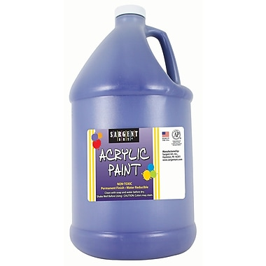 Sargent Art Non-Toxic 64 oz. Acrylic Paint, Blue (SAR222750)