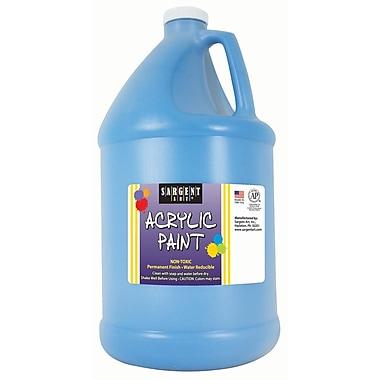 Sargent Art Non-Toxic 64 oz. Acrylic Paint, Turquoise (SAR222761)