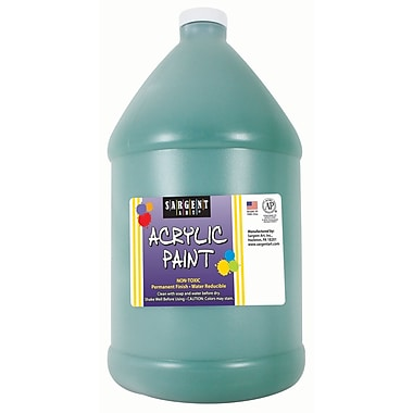 Sargent Art Non-Toxic 64 oz. Acrylic Paint, Green (SAR222766)